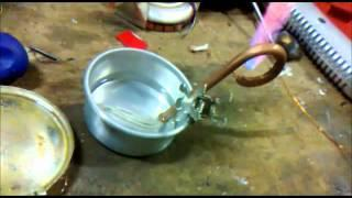 High Pressure Only in Pipe (alcohol stove)