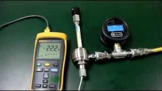 Vortex Tube test(볼텍스튜브 냉기테스트)