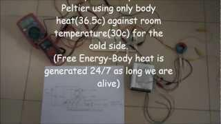 Ultra lowest 25mV self starting Joule Thief ver1.0-Free Energy merely from our body heat
