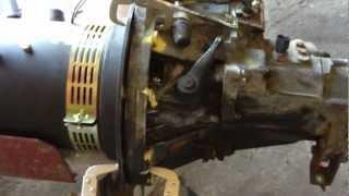 EV Conversion Guide Part 14 -------- Electric Motor & Adapter Plate--Marking The Transmission Holes