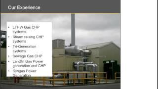 Webinar -   Developing a sound business case for CHP  - Combined heat & power