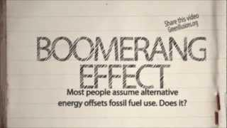 Why Alternative Energy Doesn't Offset Fossil Fuel Use