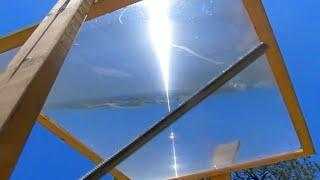 Fresnel Lens Solar Tracker Afternoon Stationary Target Sun Power Ray greenpowerscience