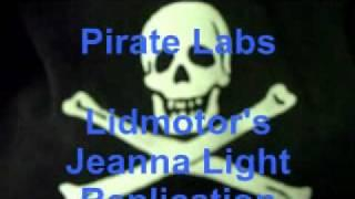 Pirate's Lidmotor Jeanna Light Joule Thief Replication.wmv