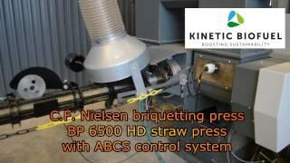 Kinetic Biofuel - Straw Briquettes for Biogas Production