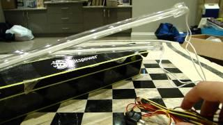 Bitspower Blue LED 30cm Cold Cathode Light Kit Unboxing