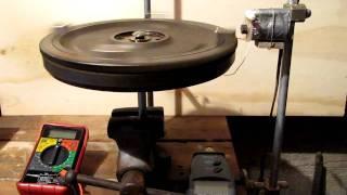 Heavy Flywheel Pulse Motor