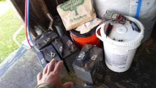 Off Grid Living - Another Battery Fail - New Sealed Batteries - Solar System - Part 1 of 2