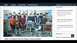 Salt Water Battery Technology For Alternative Energy Storage