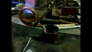 Making a Wick to Coil Pipe
