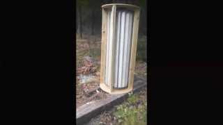 Vertical-axis wind turbine (VAWT) Build DIY Part 1