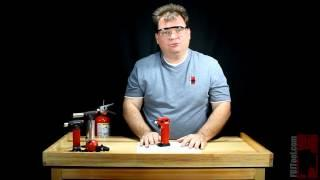 Using the MT-70 Butane Microtorch