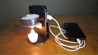 Thermoelectric Phone Charger