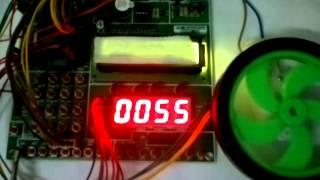 DC Motor Control using PWM