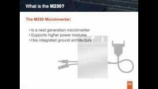 Enphase M250 Microinverter Features