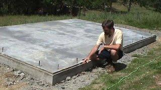How to Build a Straw Bale House: Foundation