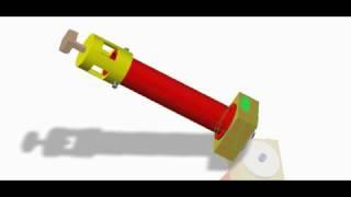 solid modeling of vortex tube using creo parametric 2.0.