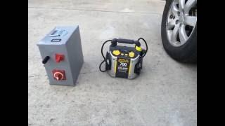 DIY Ultra Capacitor Battery Boost Box vs Stanley Battery Jump Box
