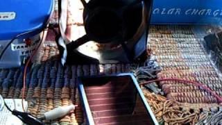 Solar Cell Phone Charger runs Bedini SSG