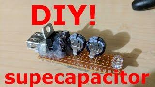 DIY Supercapacitor USB Flashlight!