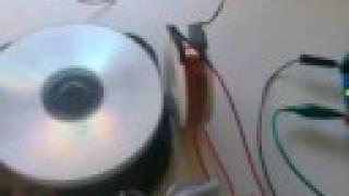 Bedini Pulse Motor - 300 Volt Capacitor Charging