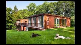 Off-Grid: shipping container home designs
