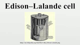 Edison–Lalande cell