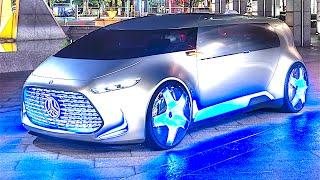 Mercedes Vision Tokyo Mercedes Self Driving Car 2017 Mercedes Hybrid Electric Car Promo CARJAM TV HD