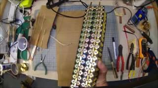 OTE Power Wall 18650 Li Ion battery pack build #4 my second 4x20 pack