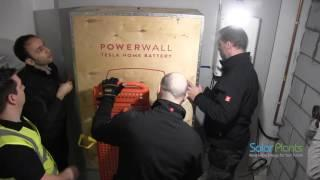 UK's First Tesla Powerwall Installation - Solar Plants