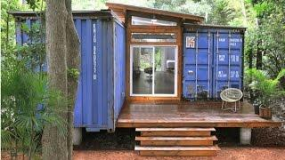 Artist's Shipping Container Home and Studio