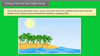 Energy from the sea: Tidal energy