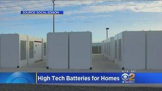 Tesla And So. Calif. Edison Building Giant Batteries To Power Homes
