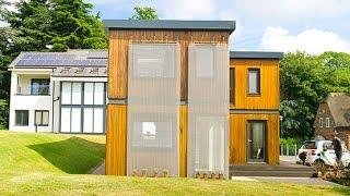 Zero carbon 'HOUSE' designed and built by students 'comes home'