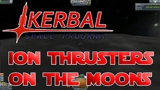 """KSP - """"Dawn"""" ION thruster - How well does it work on Kerbin's moons?"""