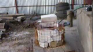Homemade easy and cheap propane aluminium foundry.