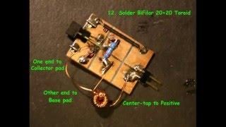 Joule Thief: 6-Pad Joule Thief Build Slideshow