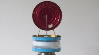 LTD Stirling Cycle Engine Free Plans Easy to Build Hot Air