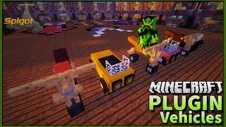 Tutorial Plugin Vehicles - Adiciona motos e carros em server sem TEXTURAS Minecraft