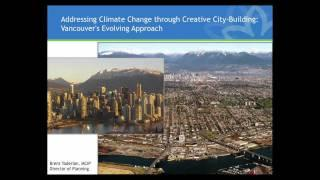 Ecocity2011 | Brent Toderian | Vancouver Local Action on Climate Change