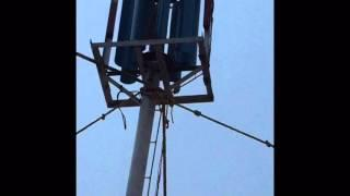 VAWT DIY ( vertical axis wind turbine)