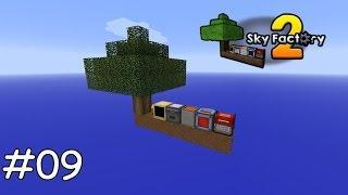 Minecraft Sky Factory 2 - 09 - Stirling Generator aus EnderIO und Inbetriebnahme [deutsch]