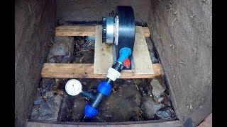 DIY Micro Hydro 9 Mounting the turbine