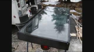 SOLAR FURNACE HEAT COLLECTOR FREE ENERGY HOW TO TOTAL COST $100