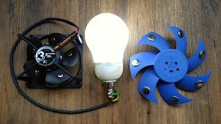 Free Energy Generator - magnet motor used as Free Energy Light Bulb