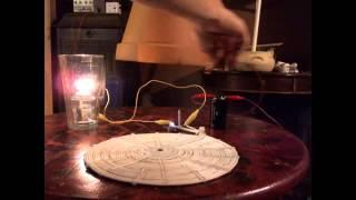 Flame Light Powered Joule Thief