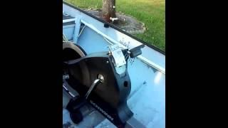 how to make a pedal power boat bicycle generator 12v troling vilaboy