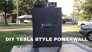 DIY STYLE TESLA POWERWALL
