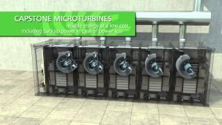 Capstone Turbine Industrial CCHP Application (English)