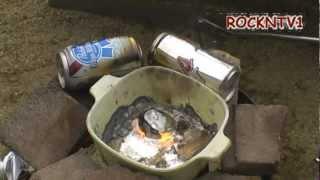 Aluminum Casting cans to ingot